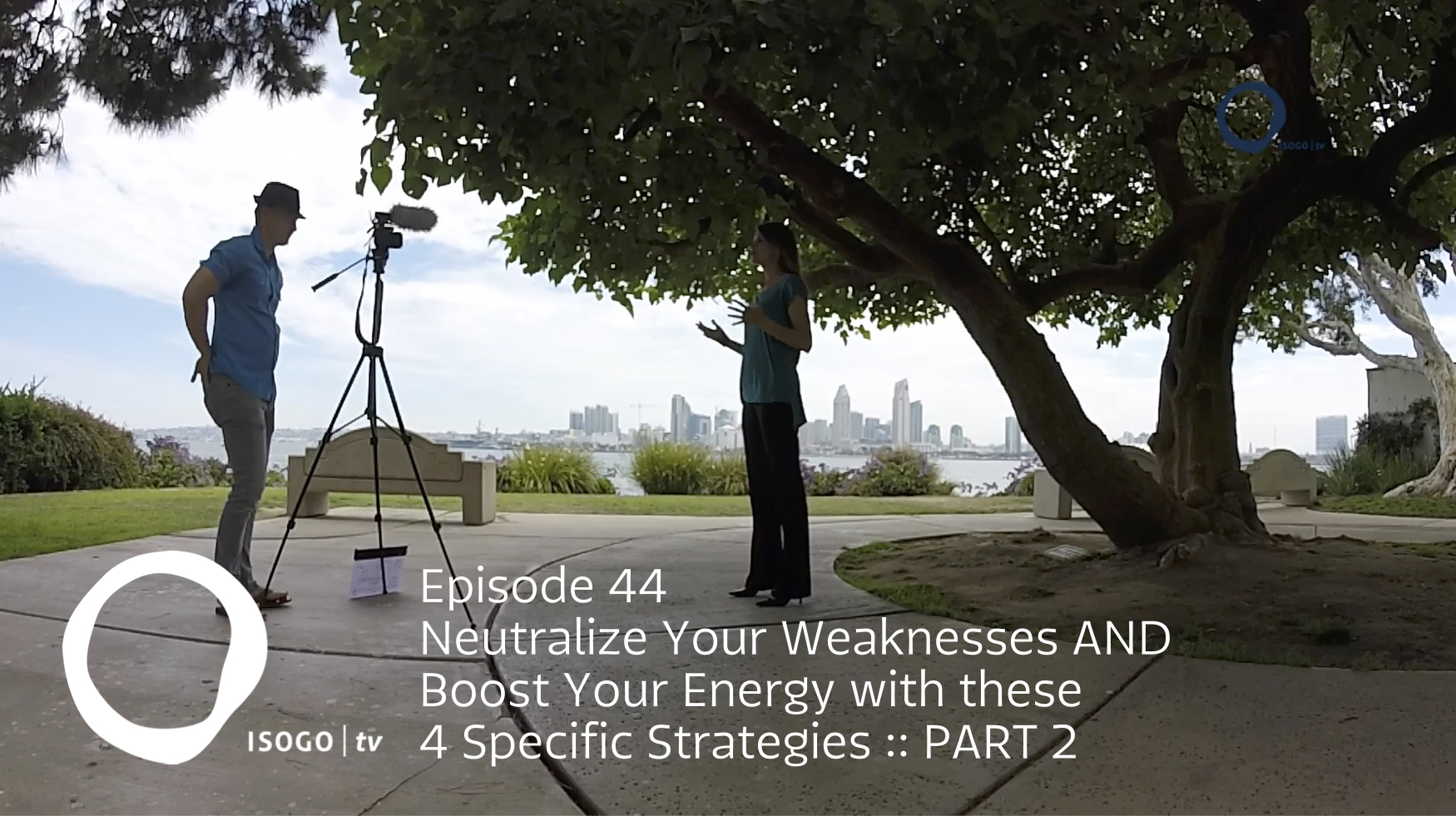 Neutralize Your Weaknesses AND Boost Your Energy with these 4 Specific Strategies :: Part 2 | Isogo TV Episode 44