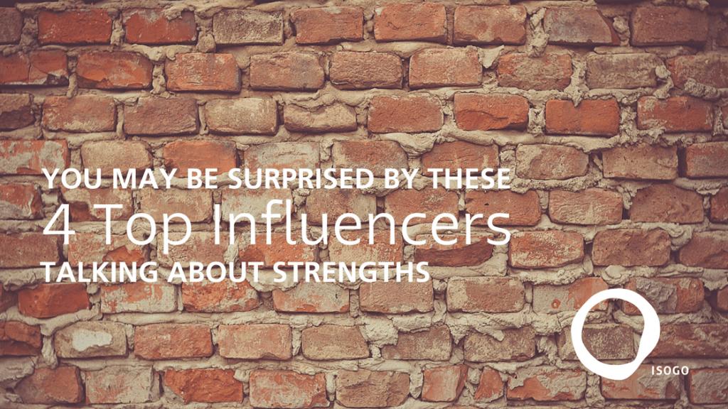 StrengthsFinder Top Influencers Strengths