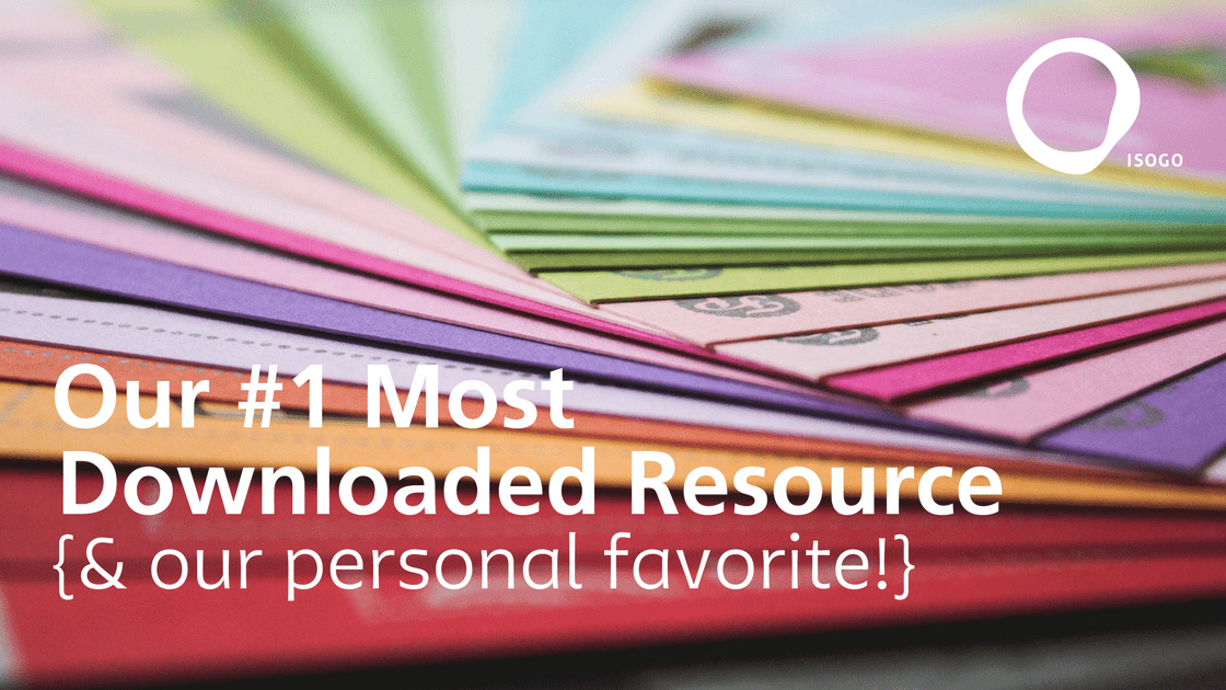 Our #1 Most Downloaded Resource {& our personal favorite!}