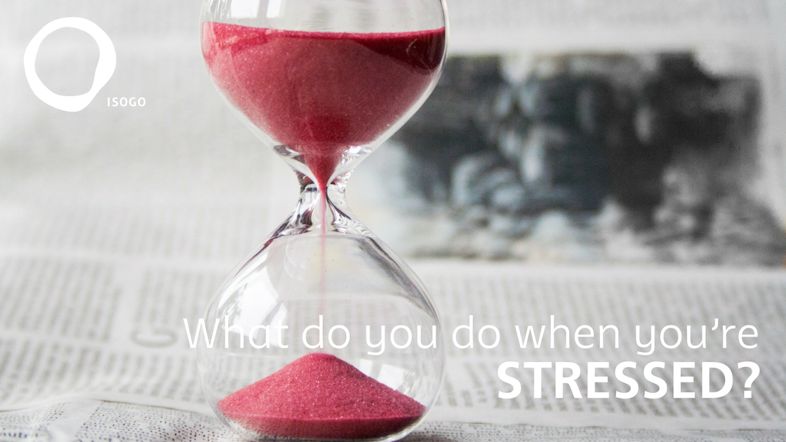 What do you do when you're stressed?