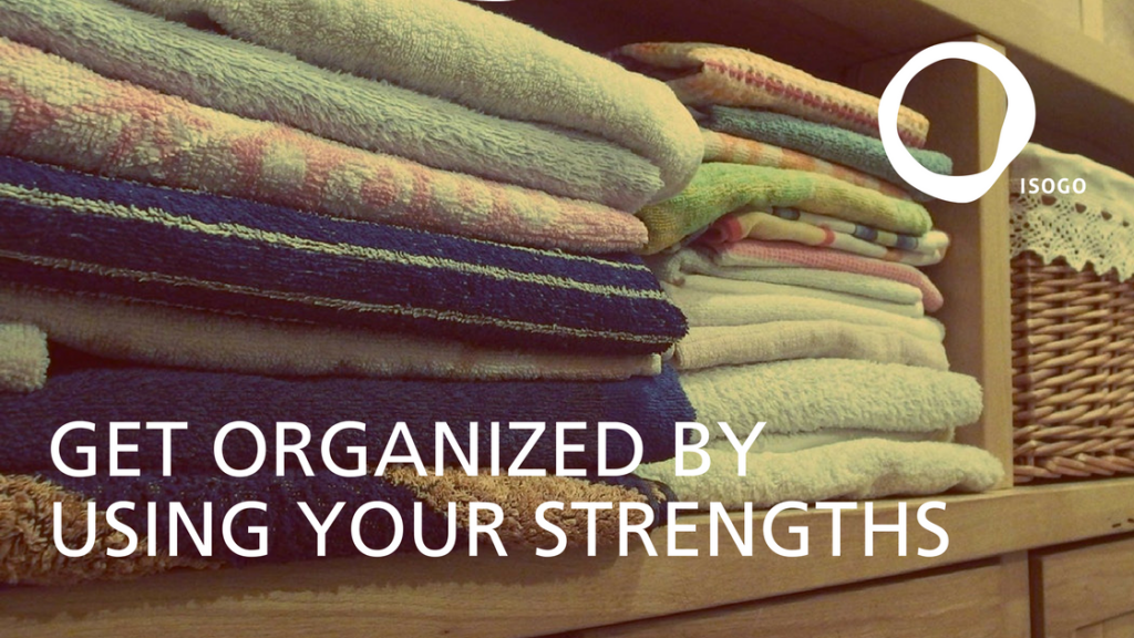 get organized with strengths feature