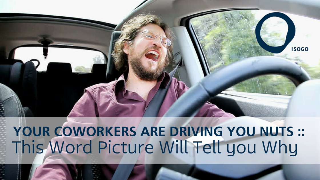 Your Coworkers are Driving you Nuts :: This Word Picture Will Tell you Why