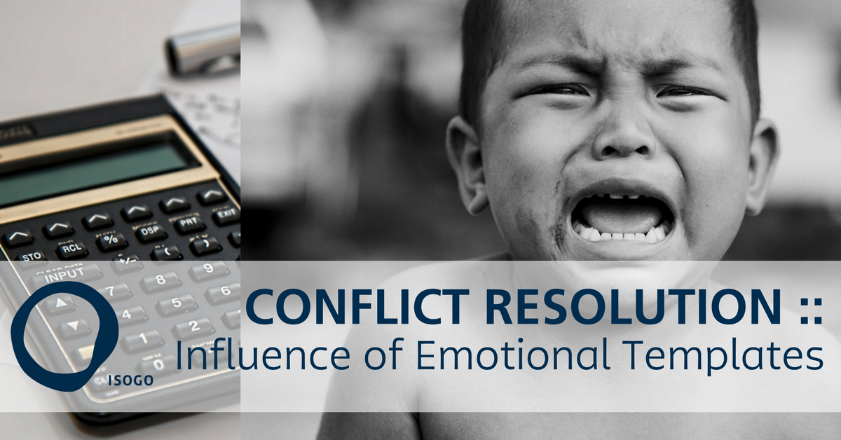 Conflict Resolution :: Influence of Emotional Templates
