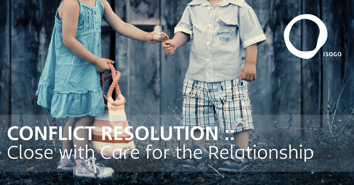 Conflict Resolution :: Close with Care for the Relationship