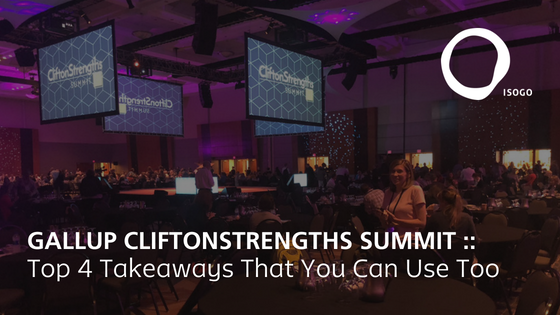cliftonstrengths summit 2018 feature