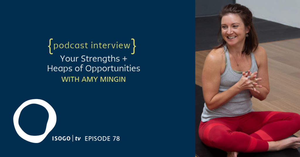 clifton strengths isogotv interview amy minigin